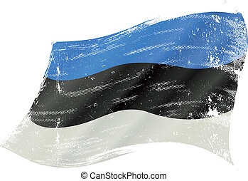 estonia, grunge, bandera