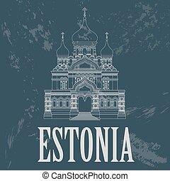 Estonia infographics