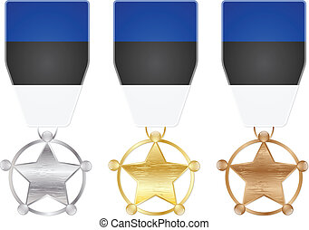 estonia medals