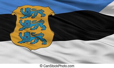 Estonia Naval Ensign Flag Closeup Seamless Loop - Naval...