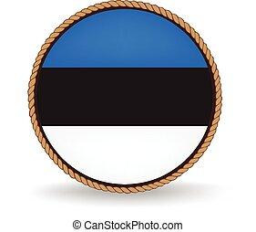 Estonia Seal - Flag seal of Estonia.