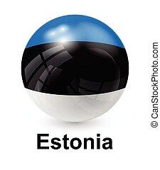 estonia state flag