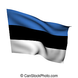 estonia - flag of estonia