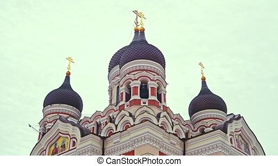 Estonian churches. The Lutheran and orthodox churches.