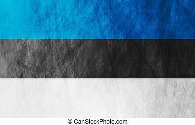 Estonian grunge flag abstract textural background. Vector ...