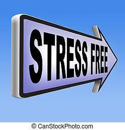 estrés libre, zona