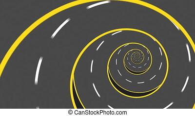 estrada, abstratos