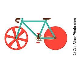 estrada, bike.