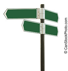 estrada, branca, isolado, fundo, sinal
