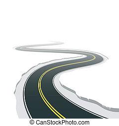 estrada, enrolamento