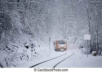 estrada ferro, inverno