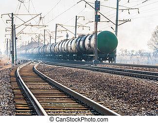 estrada ferro, tanque