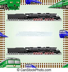 estrada ferro, transporte