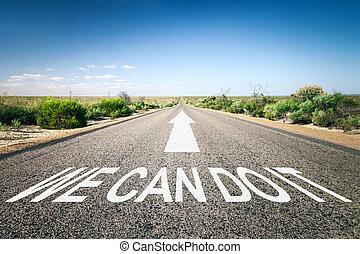 estrada, horizonte