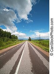 estrada, latvia., zemgale