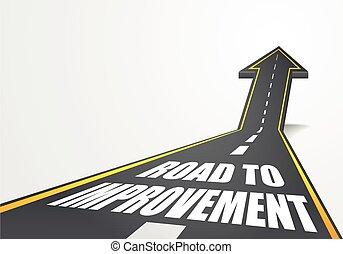 estrada, melhoria
