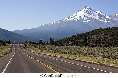 estrada, para, monte shasta