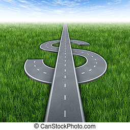 estrada, para, riquezas
