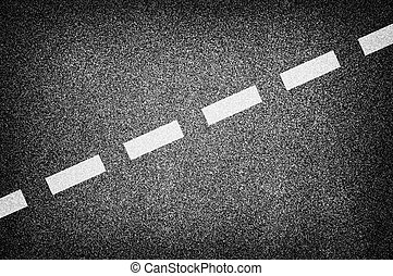 estrada, textura