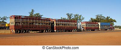 estrada, trem, em, australia2