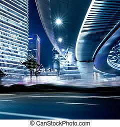 estrada urbana, fundo