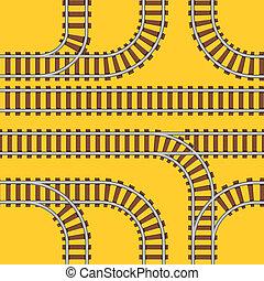 estradas ferro, seamless, fundo