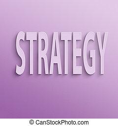estratégia