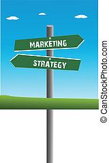 estratégia, e, marketing, tráfego