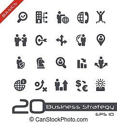 estratégia negócio, e, gerência