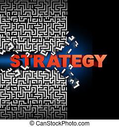 estratégia, solução