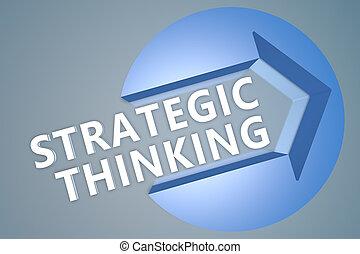 estratégico, pensamiento
