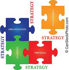 estrategia, rompecabezas