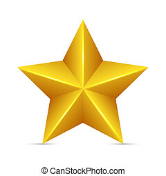 estrela, amarela