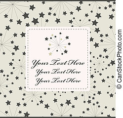 estrela, cartão