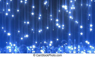 estrela, chuva