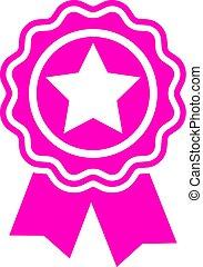 estrela, distinção, ícone