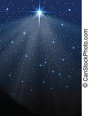 estrela, fundo