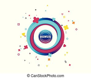estrela, oferta, bônus, símbolo., sinal, icon., especiais