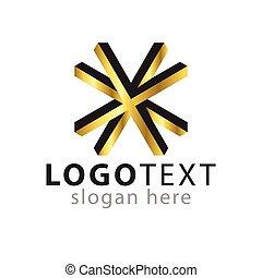 estrela, ouro, cor, vetorial, logotipo, linha, ícone