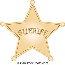estrela, xerife