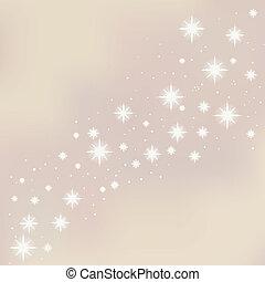 estrelado, natal, feliz, experiência.