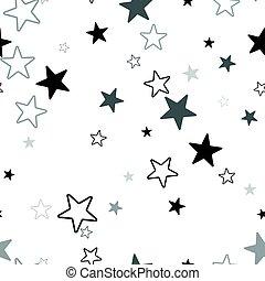 estrelado, pattern., seamless, textura, escandinavo, experiência., geomã©´ricas