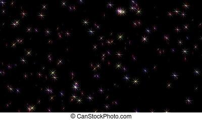estrelas, magia, céu