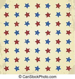 estrelas, padrão, fundo