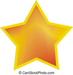 estrella, amarillo