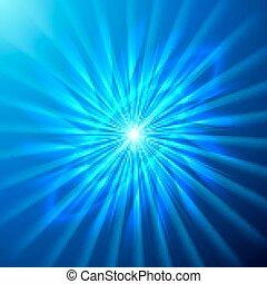 estrella brillante, espacio