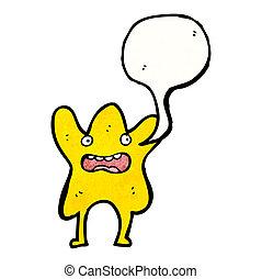 estrella, caricatura