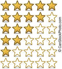 estrella, clasificación