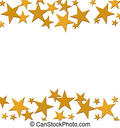estrella del oro, plano de fondo