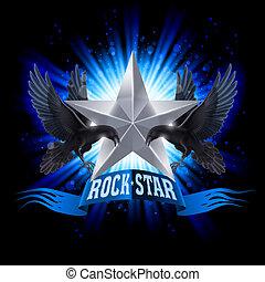 estrella, roca